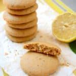 Soft, Vegan Lemon Poppy Seed Cookies