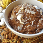 Vegan Rocky Road Banana Nice Cream