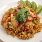 Spicy Pinto Beans and Rice