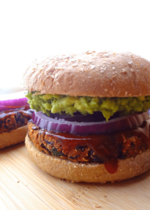 These No Crumble BBQ Black Bean Burgers are also gluten free! Topped with avocado, they're the perfect, crave-able vegan burger that won't fall apart! Leftovers can be frozen for a quick lunch or easy dinner!