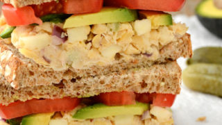 Apple-Walnut Chickpea Salad