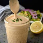 Creamy Vegan BBQ Ranch Dressing (gluten-free, oil-free)