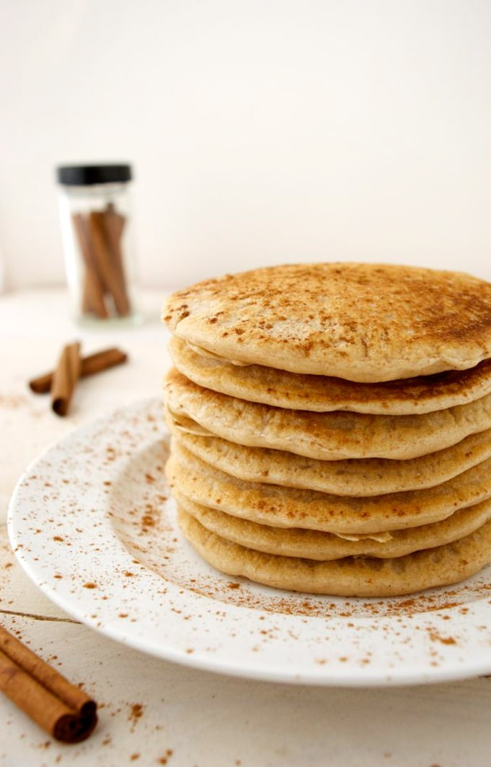 Vegan cinnamon pancakes where you get your protein vegan cinnamon pancakes are the perfect weekend breakfast theyre warm light ccuart Images