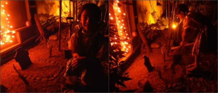 halloween-grave-collage