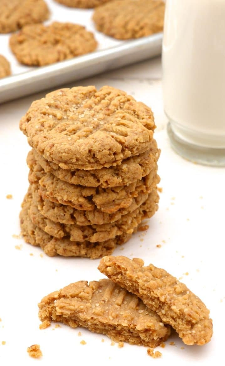Vegan Peanut Butter Cookies 20 Min No Chill Where You