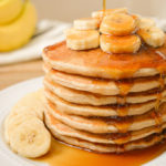 Vegan Banana Milk Pancakes