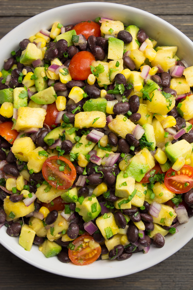Pineapple fiesta salad