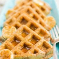 Cinnamon Vegan Waffles