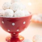 Vegan Snowball Cookies