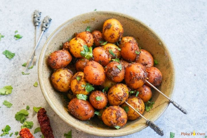 Spicy Bombay Potatoes – Instant Pot Pressure Cooker