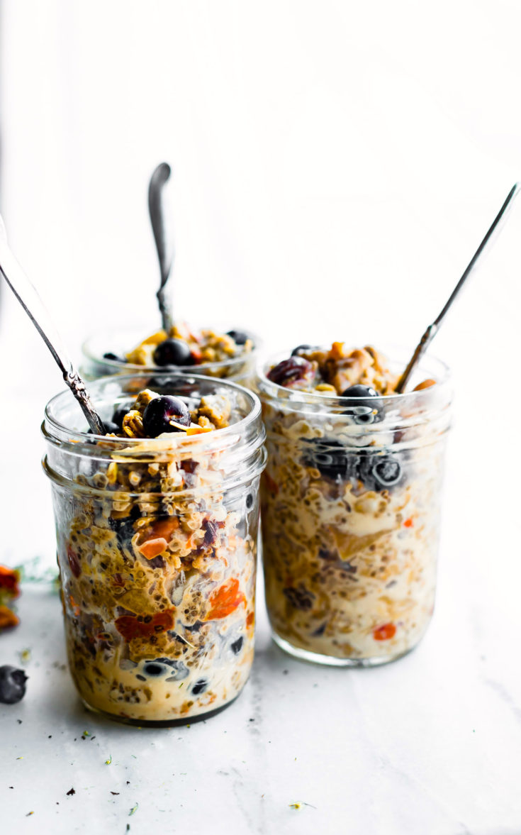 SUPERFOOD INSTANT POT OATMEAL IN A JAR (Gluten free, Vegan)