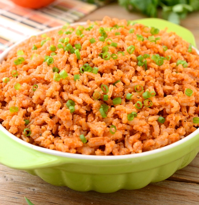 Instant Pot Spanish Rice (no chopping!)