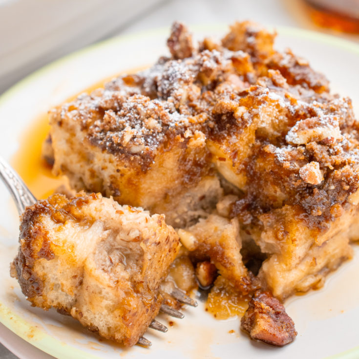 Vegan French Toast Casserole Where You Get Your Protein