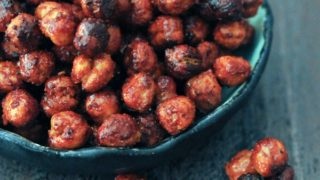 Smoky Sweet Crunchy Chickpeas