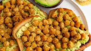 Easy Cheezy Chickpeas