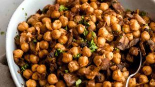 Easy Spiced Chickpeas