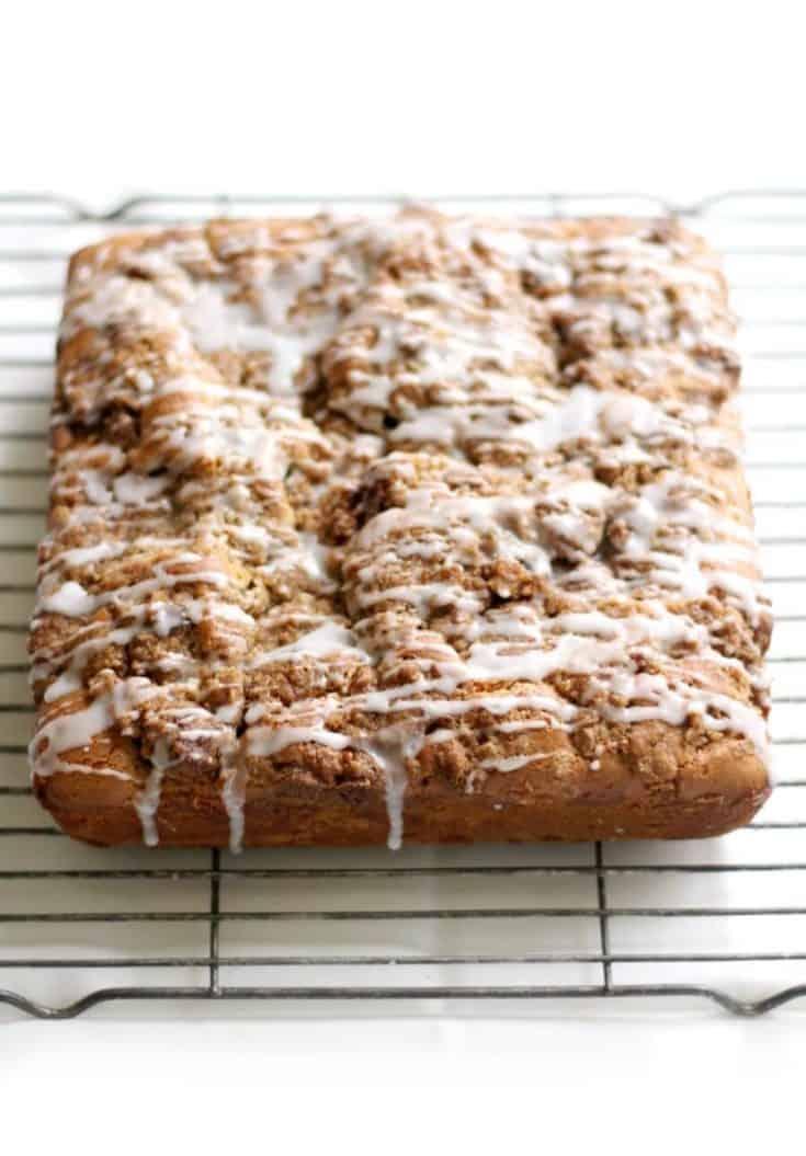 (GF) Coffee Cake with Cinnamon Streusel