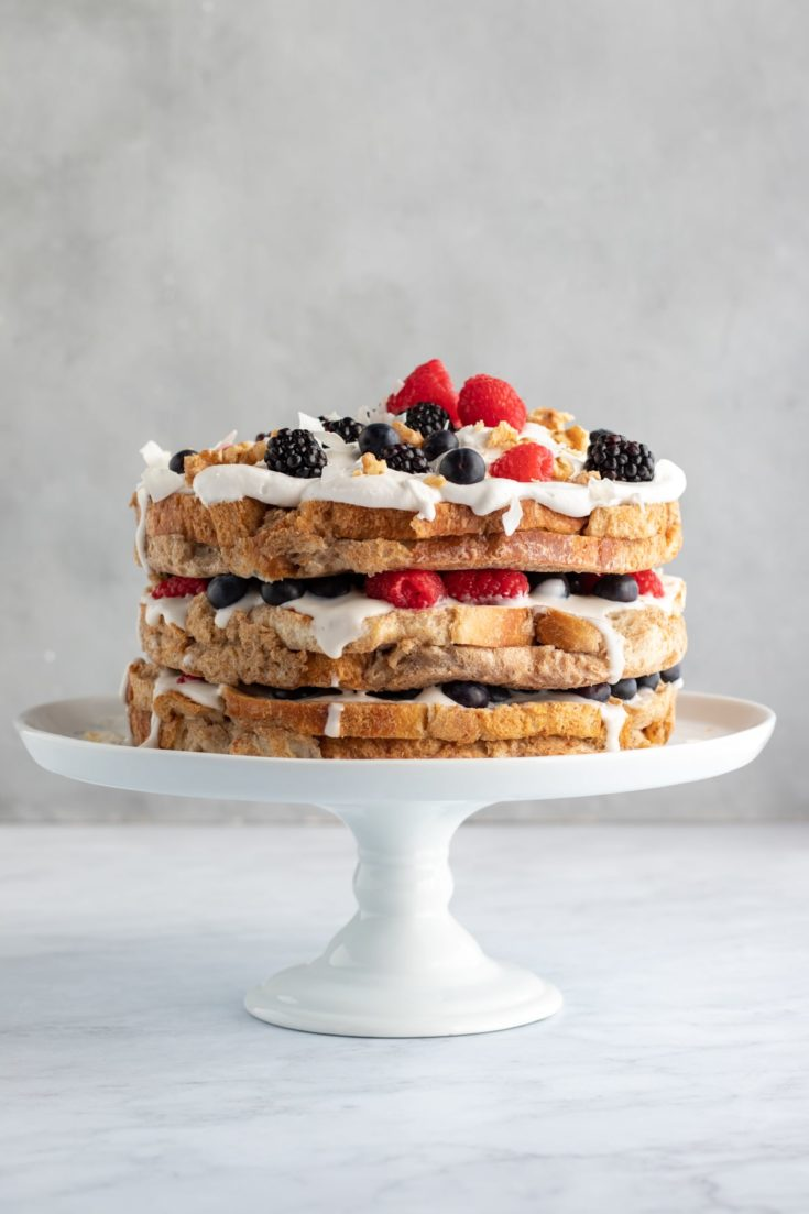 French Toast Breakfast Cake